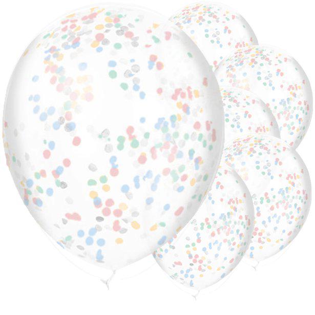 Globos Confetti Oh Baby - 28 cm 1