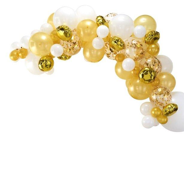 Arco de globos dorados - 70 globos 1