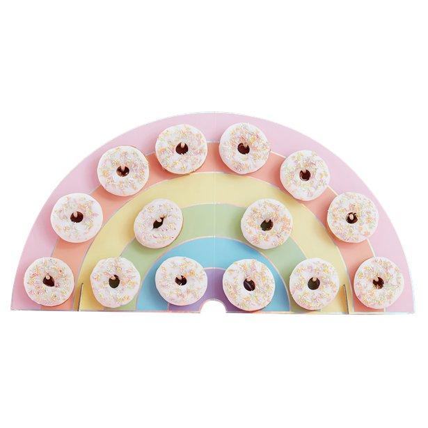 Stand de donuts arcoíris 1