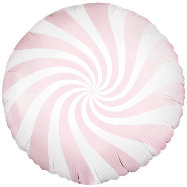 Globo candy rosa pastel - 46 cm 1