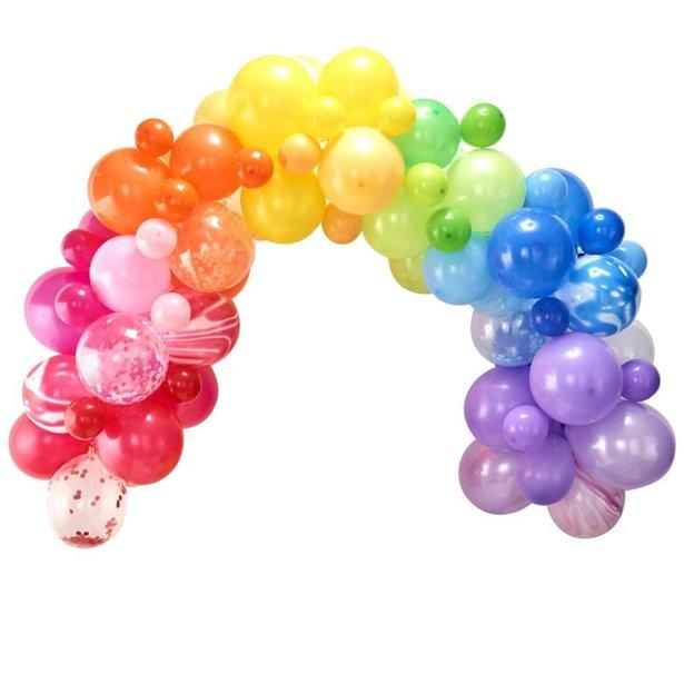 Arco de globos arcoiris - 85 globos 1