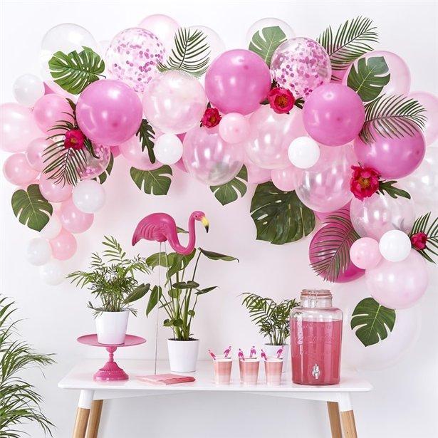 Arco de globos rosas - 70 globos 3