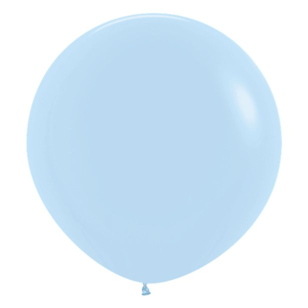 Globos Azul Pastel - 60 cm 1