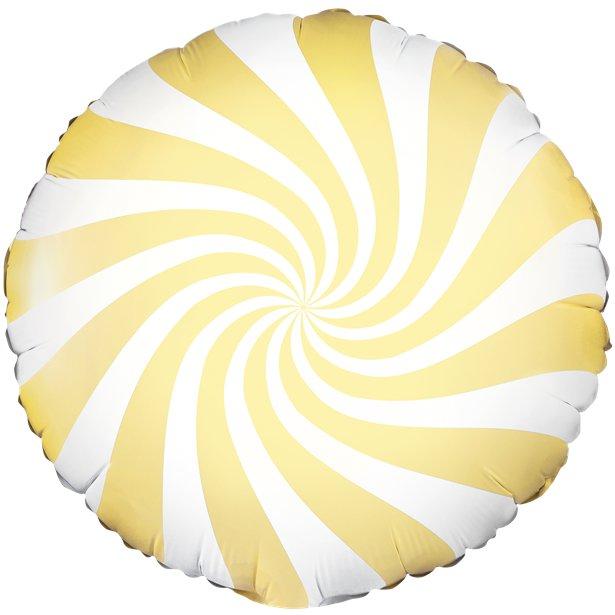 Globo candy amarillo pastel - 46 cm 1