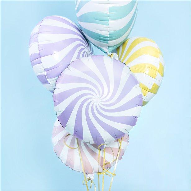 Globo candy lila - 46 cm 2