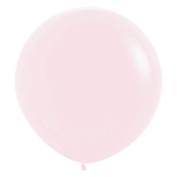 Globos Rosa Pastel -  60 cm 1