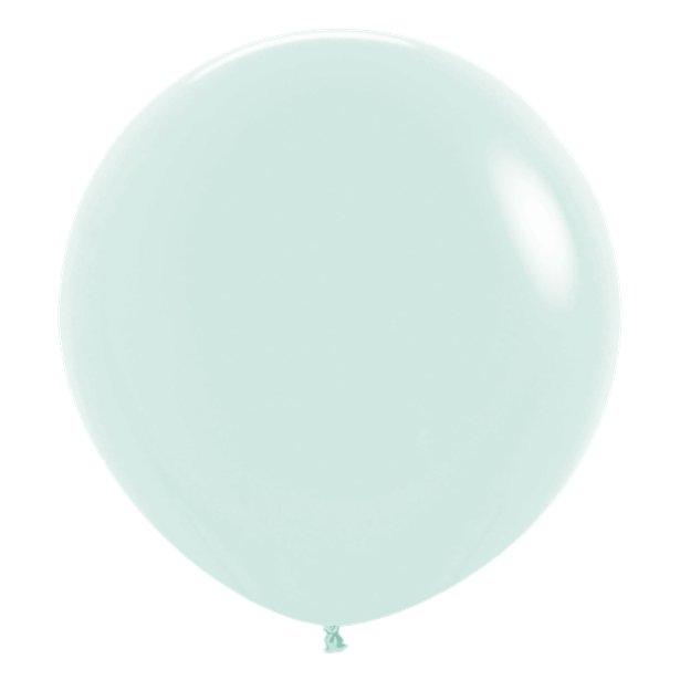 Globos Verde Pastel -  60 cm 1