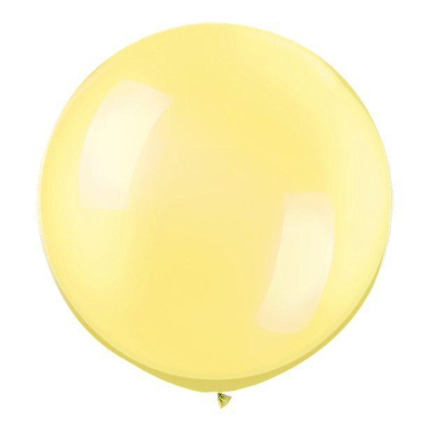 Globos Amarillo Perlado -  76 cm 1