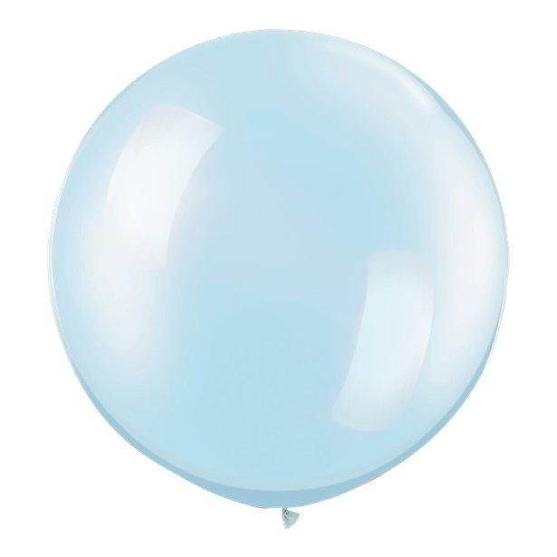 Globos Azul Perlado -  76 cm 1