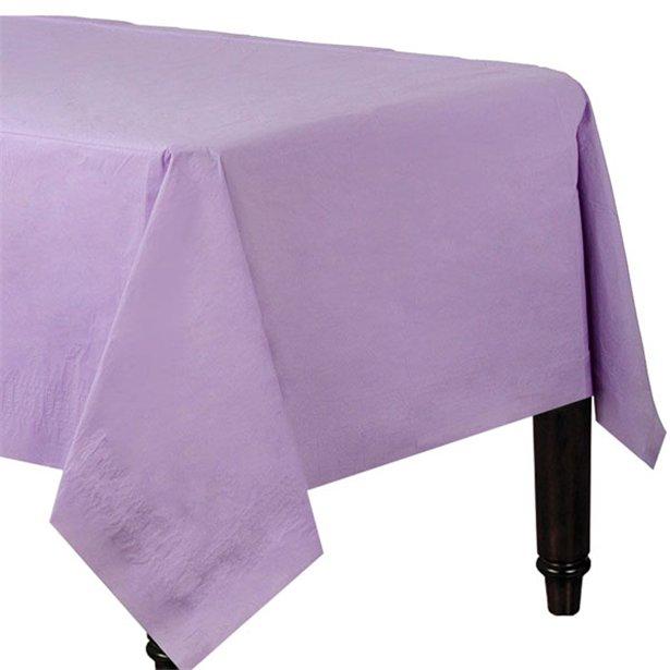 Mantel lila de papel - 1,4 m x 2,8 m 1