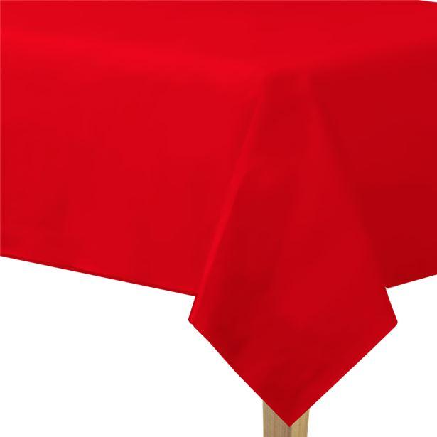 Mantel rojo de papel - 1,4 m x 2,8 m 1