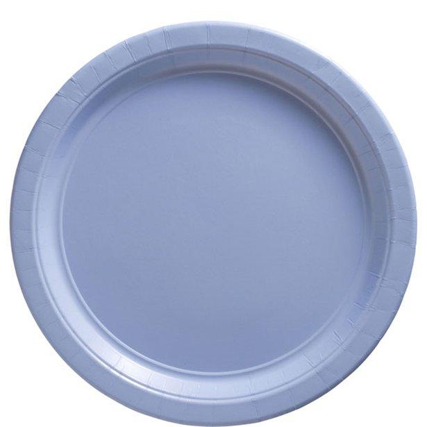 Platos azul pastel - 23 cm (x8) 1