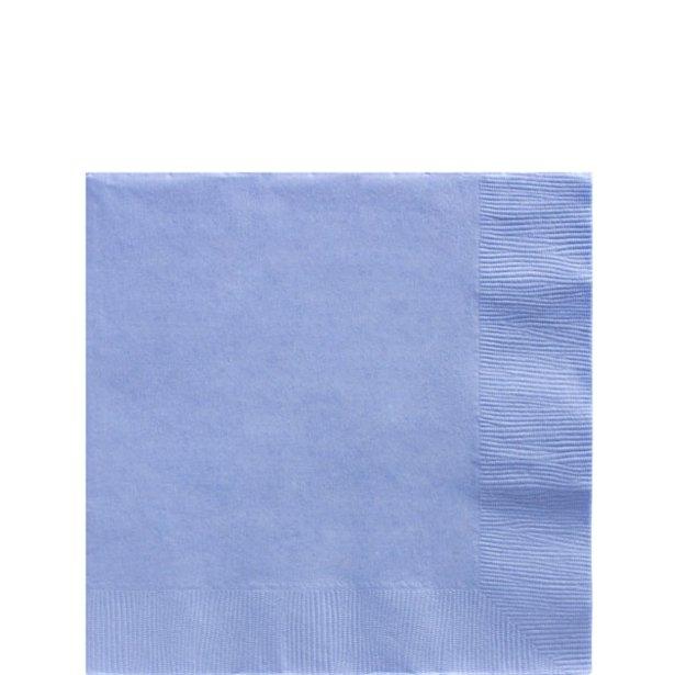 Servilletas azul pastel - 25 cm (x50) 1