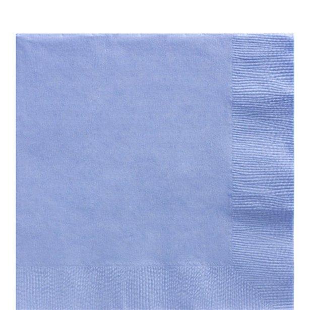 Servilletas azul pastel - 33 cm (x20) 1