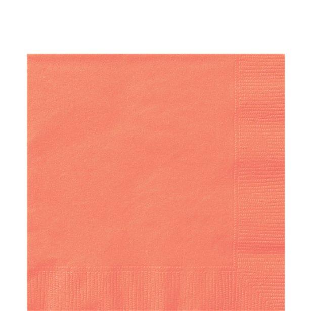 Servilletas coral - 33 cm (x20) 1