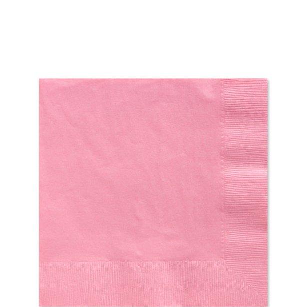Servilletas rosas - 25 cm (x50) 1