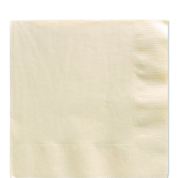 Servilletas vainilla - 33 cm (x20) 1