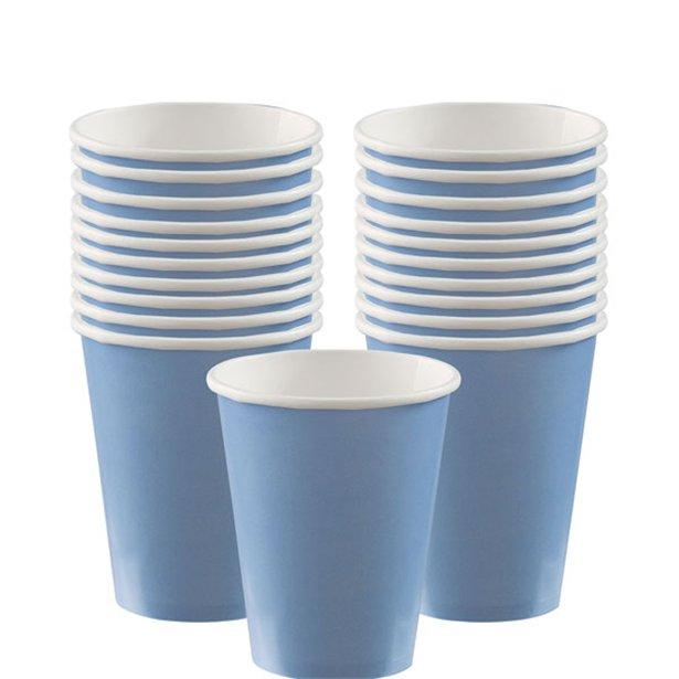 Vasos azul pastel - 266 ml (x20) 1
