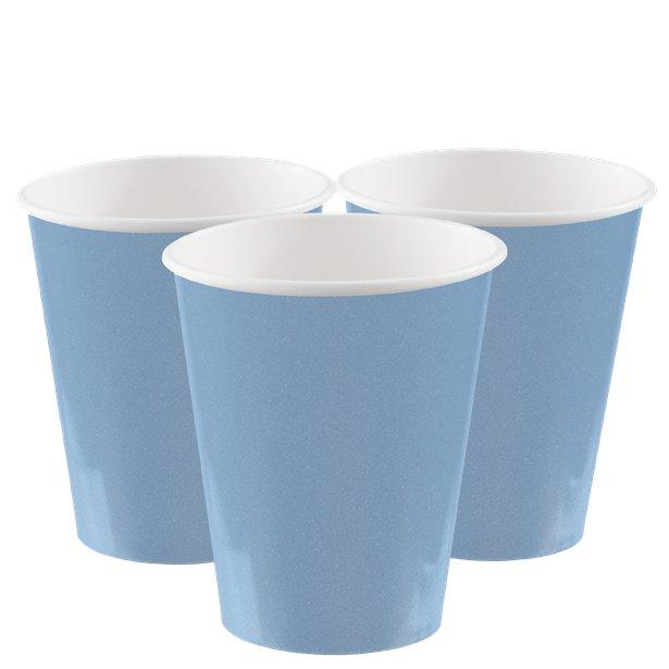 Vasos azul pastel - 266 ml (x8) 1