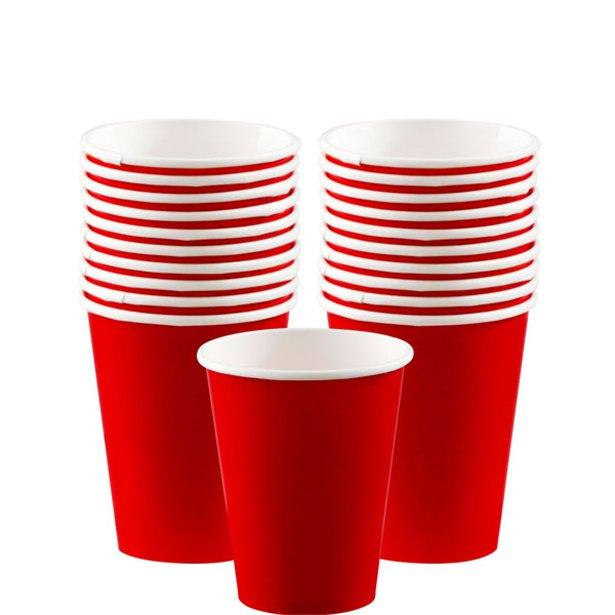 Vasos rojos - 266 ml (x20) 1
