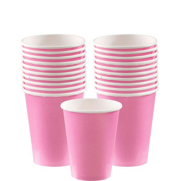 Vasos rosas - 266 ml (x20) 1