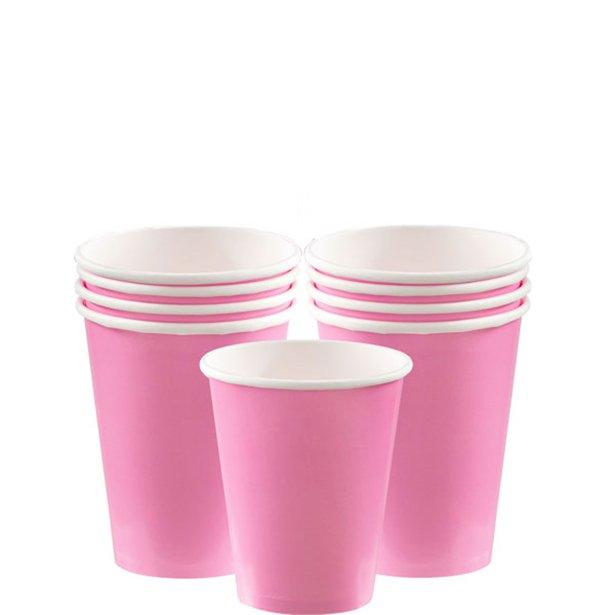 Vasos rosas - 266 ml (x8) 1