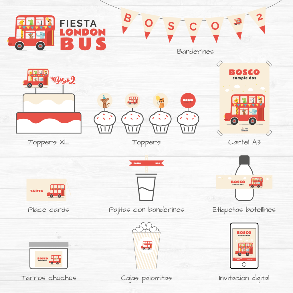 Fiesta London Bus 4