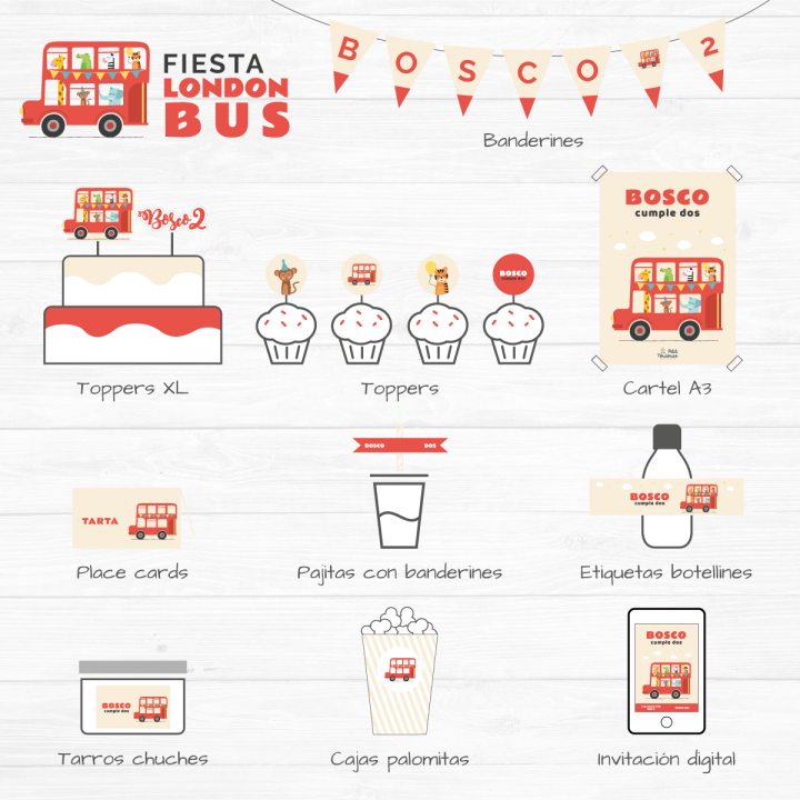 Fiesta London Bus 1