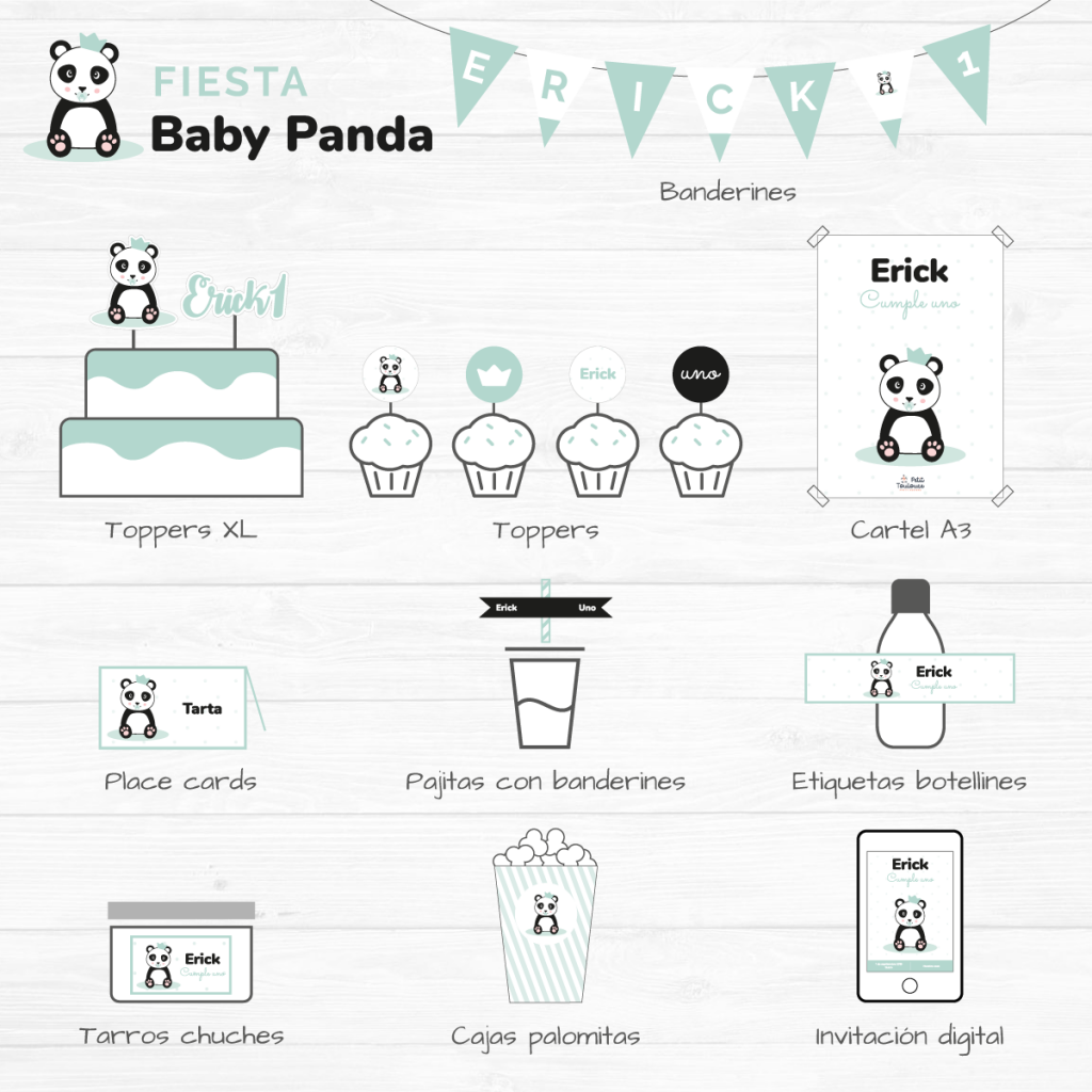 Fiesta Baby Panda 2