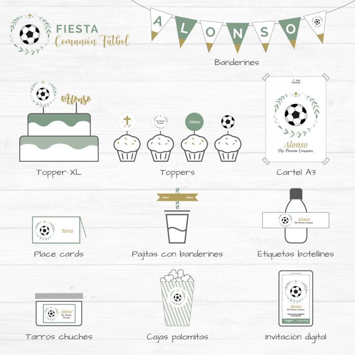 Fiesta Comunión Fútbol 1