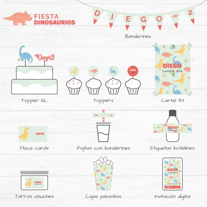 Fiesta Dinosaurios digital 1