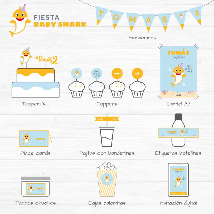 Fiesta Baby Shark digital 1