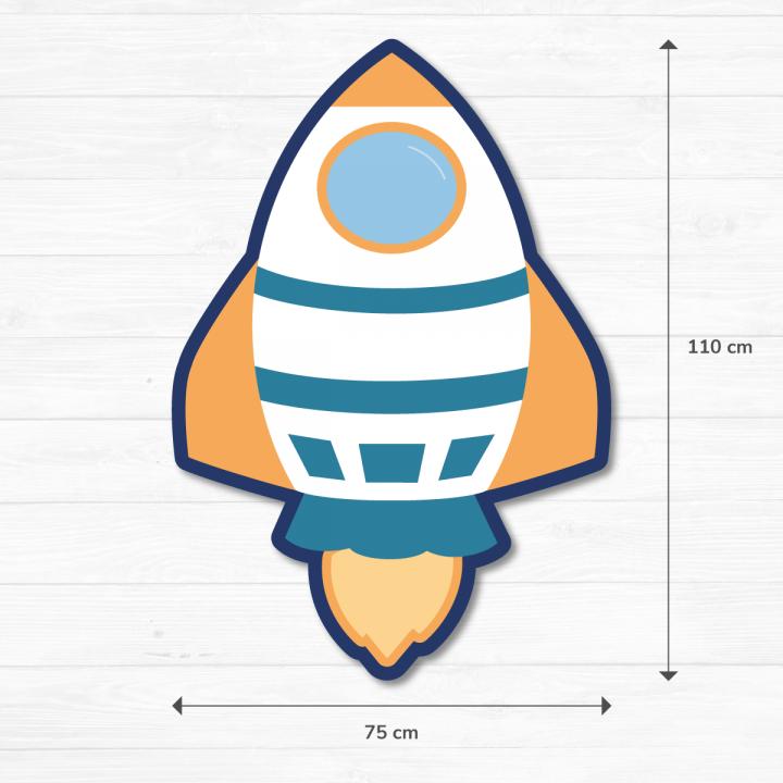 Atrezo Cohete Espacial